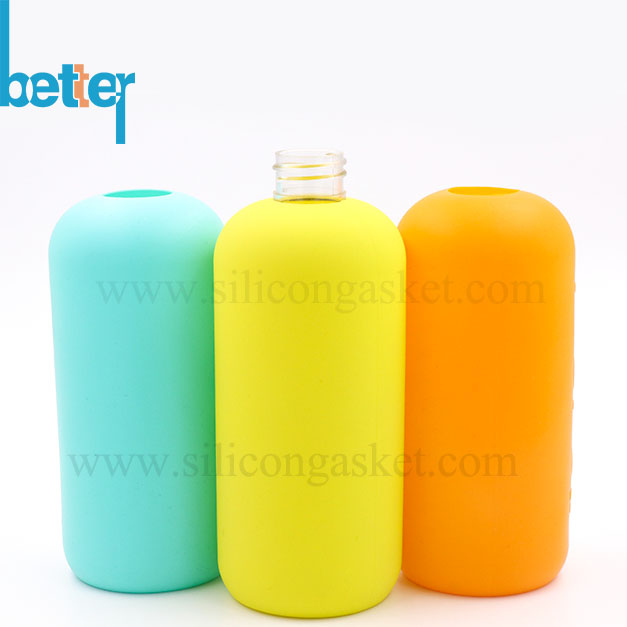 Custom Silicone Sleeve for Glass Water Bottle