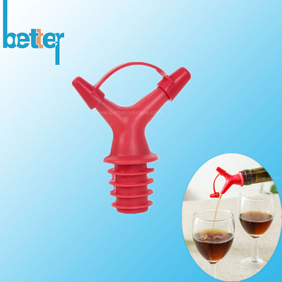 Rubber Silicone Wine Bottle Stoppers